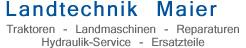 Landtechnik Maier Traktoren Landmaschinen Reparaturen Hydraulik-Service Ersatzteile Zell am Moos O� Salzburg